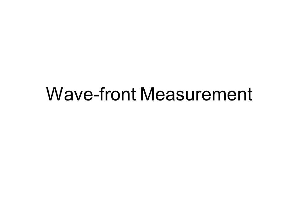 Wave-front Measurement