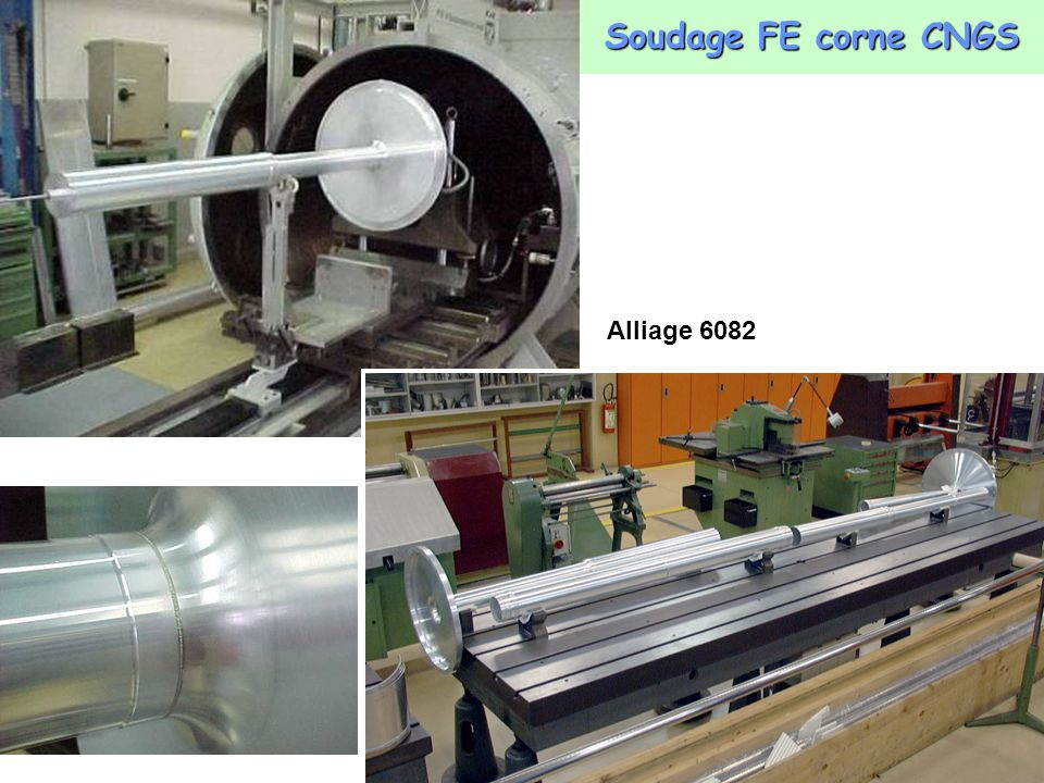 Soudage FE corne CNGS Alliage 6082