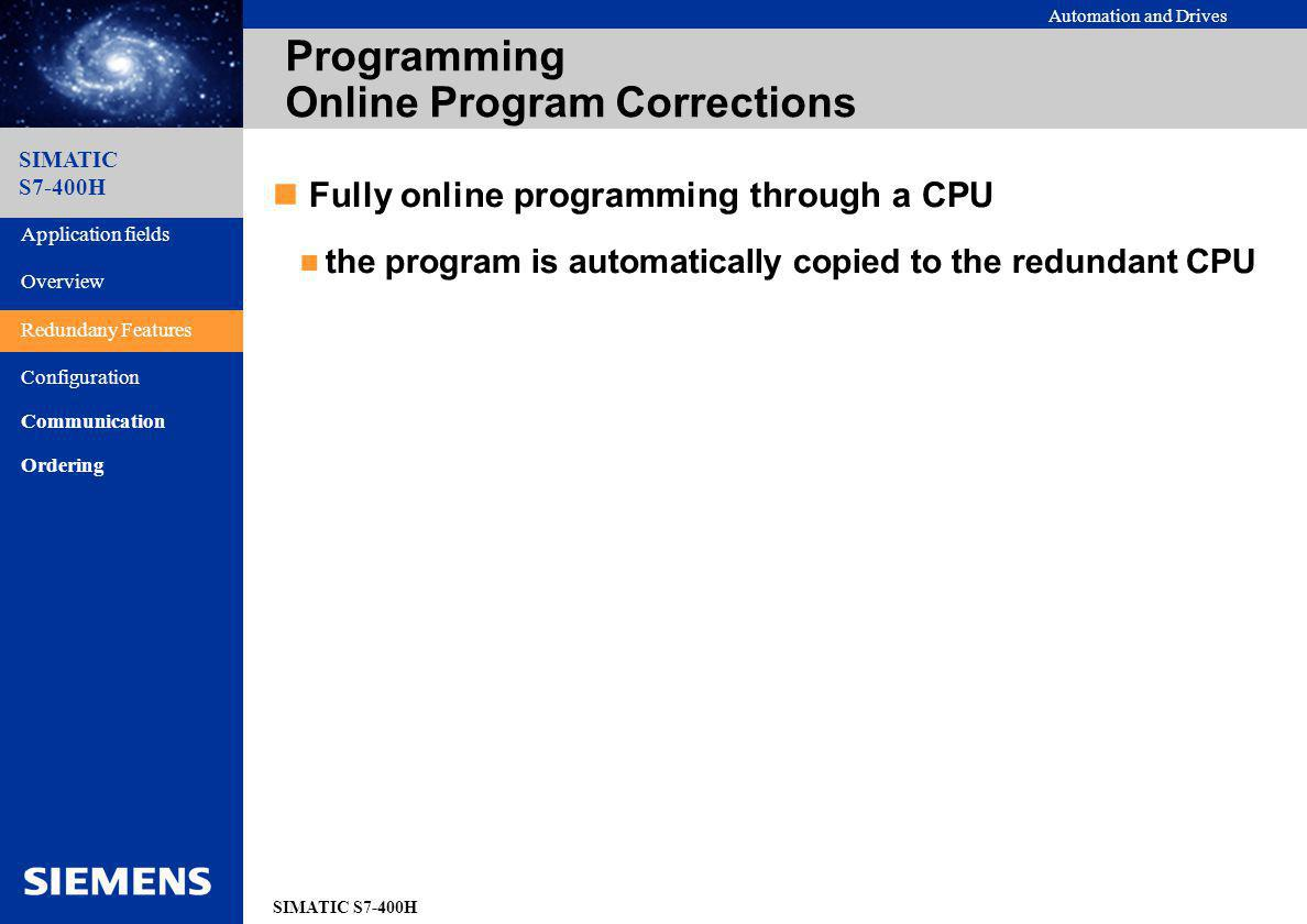 Programming Online Program Corrections