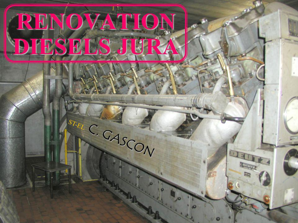 RENOVATION DIESELS JURA
