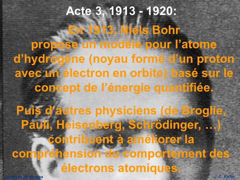 Acte 3, 1913 - 1920: