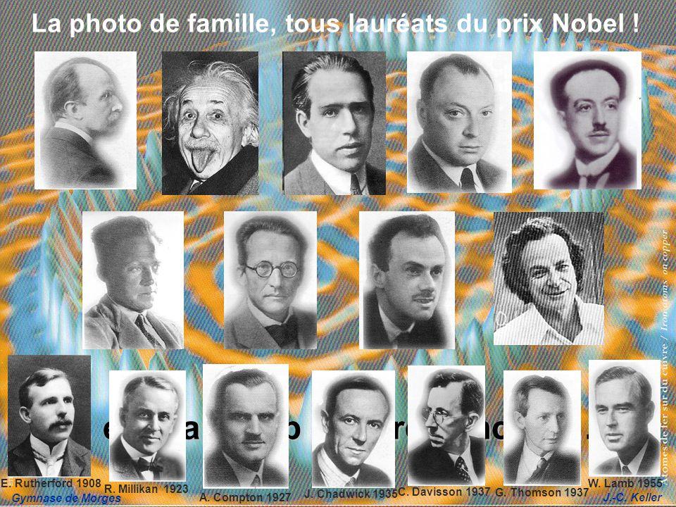 La photo de famille, tous lauréats du prix Nobel !