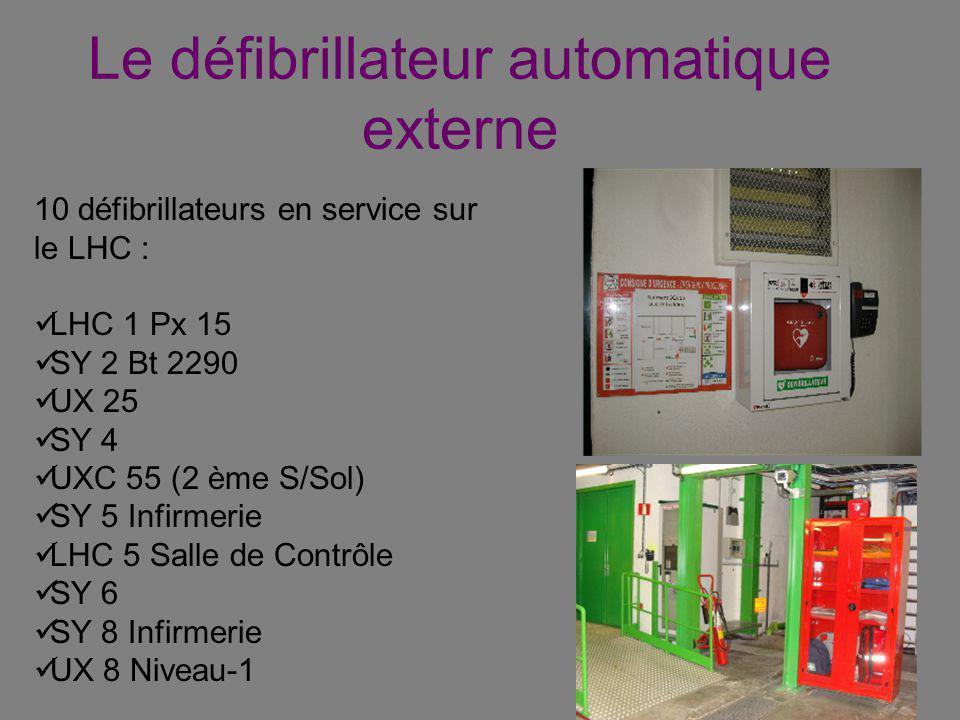 Le défibrillateur automatique externe