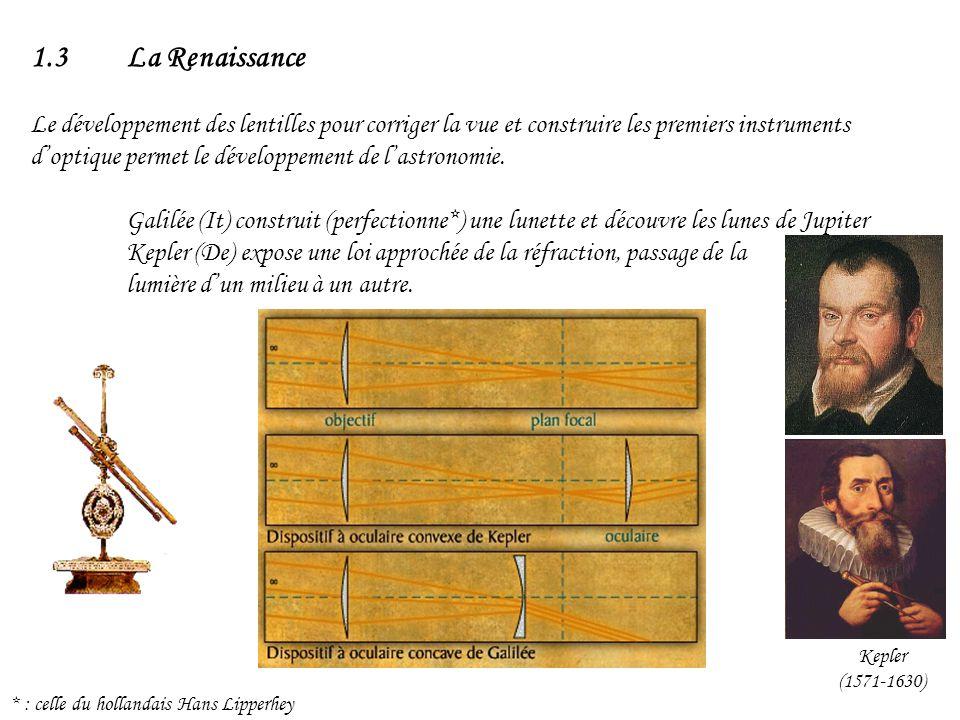 1.3 La Renaissance