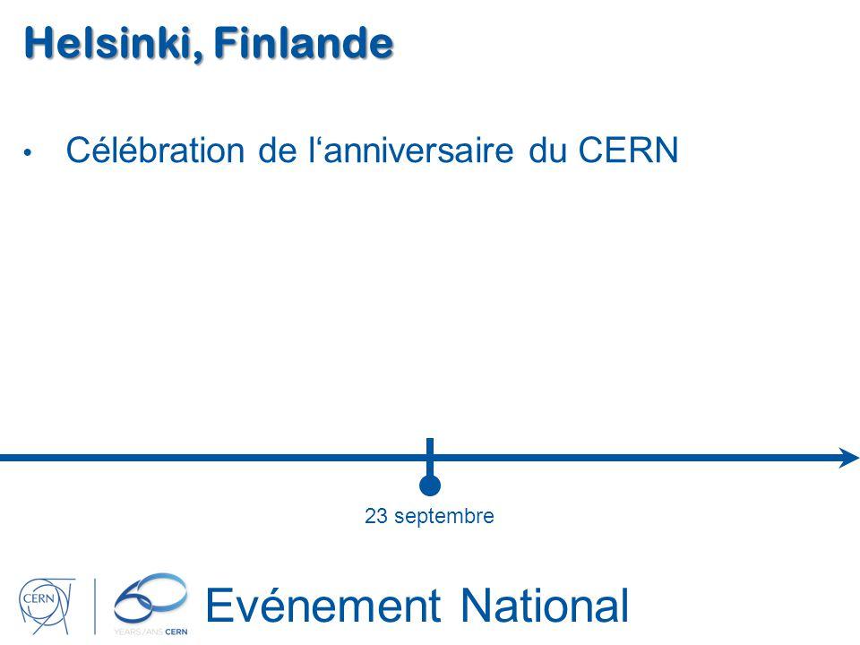 Evénement National Helsinki, Finlande