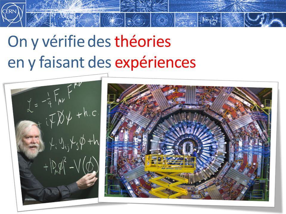 On y vérifie des théories en y faisant des expériences