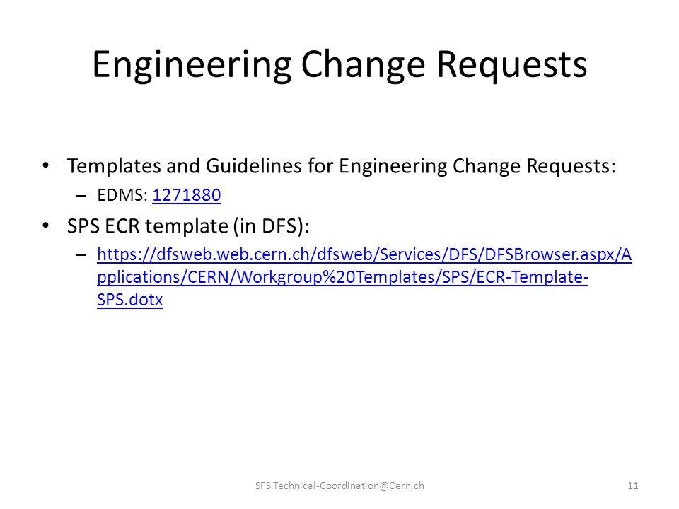 Engineering Change Requests