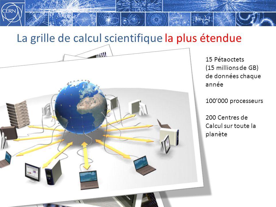 La grille de calcul scientifique la plus étendue
