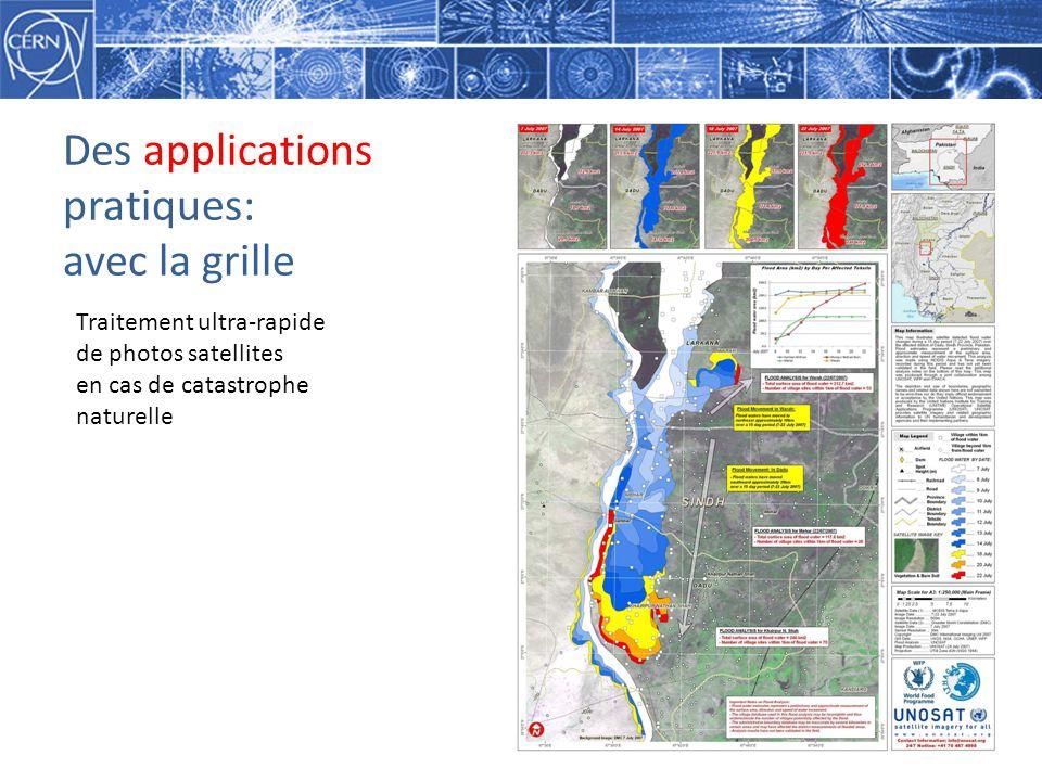 Des applications pratiques: avec la grille