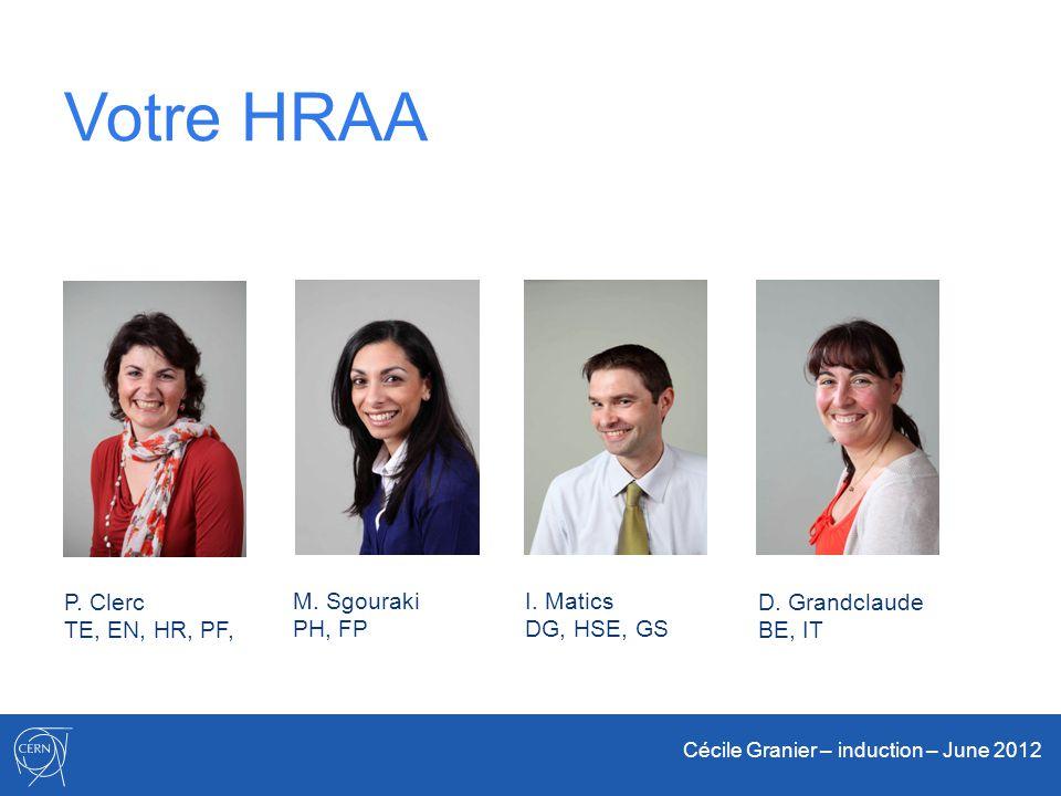 Votre HRAA P. Clerc TE, EN, HR, PF, M. Sgouraki PH, FP