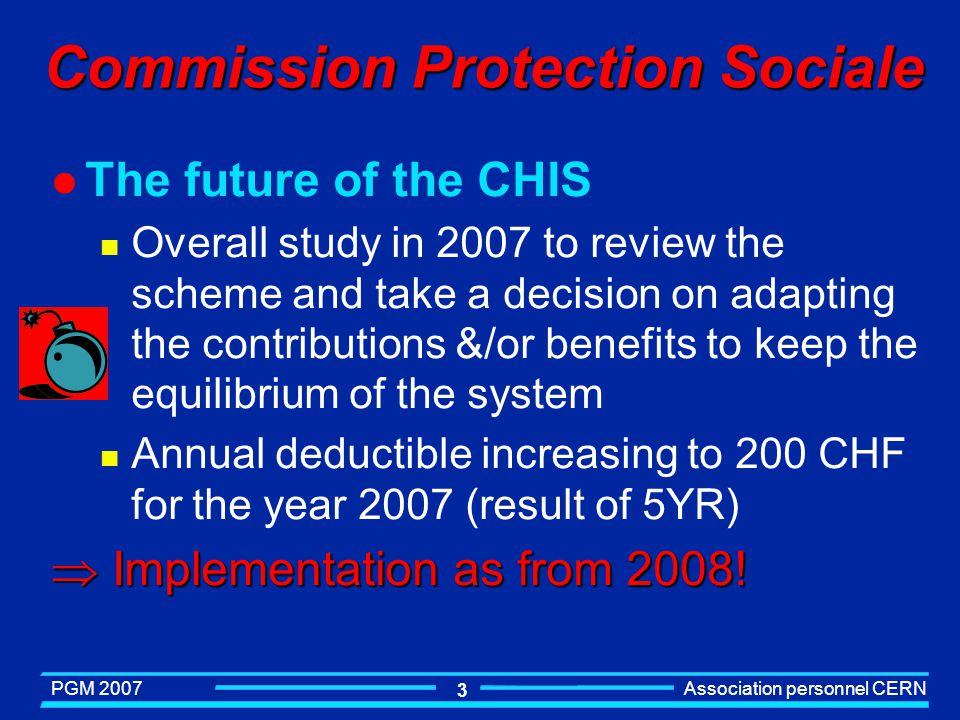 Commission Protection Sociale