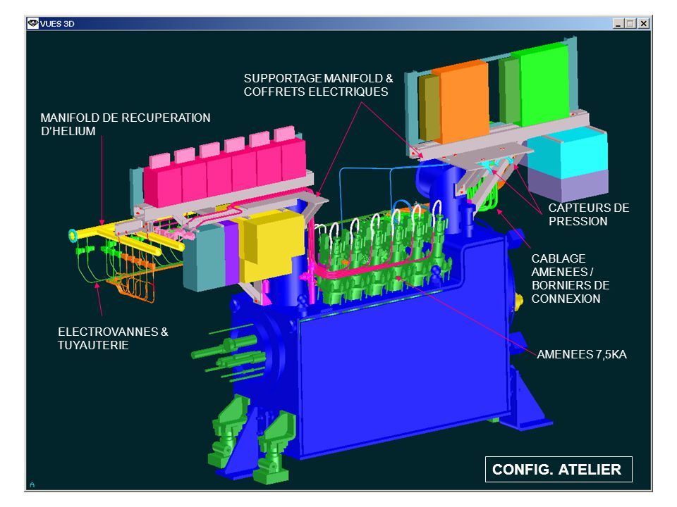 CONFIG. ATELIER SUPPORTAGE MANIFOLD & COFFRETS ELECTRIQUES