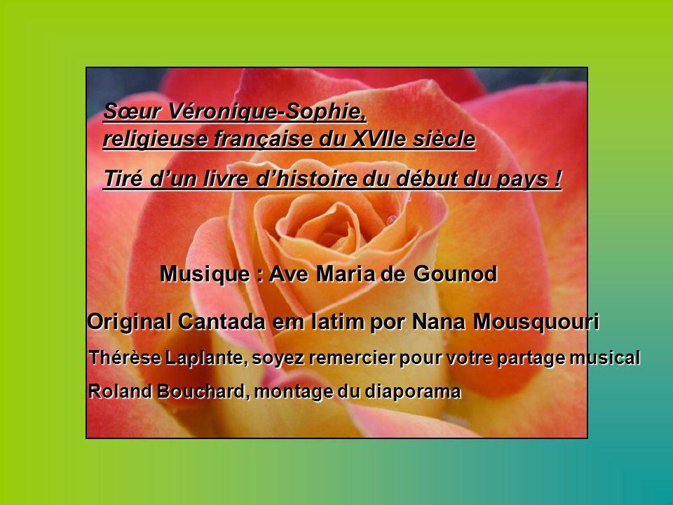 Musique : Ave Maria de Gounod
