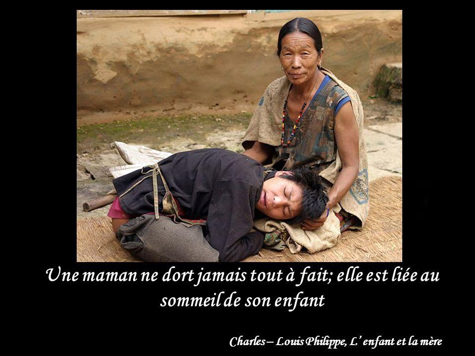 Charles – Louis Philippe, L' enfant et la mère