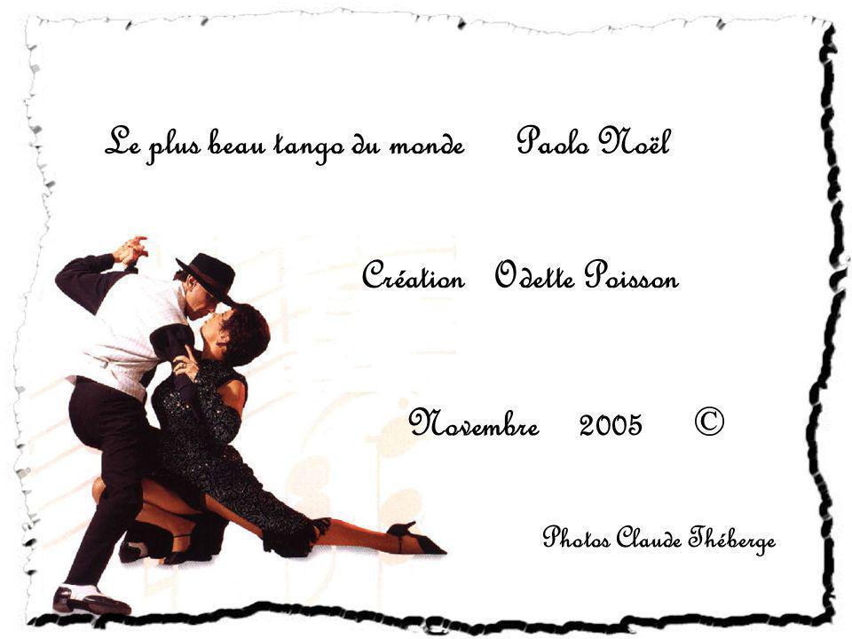 Le plus beau tango du monde Paolo Noël