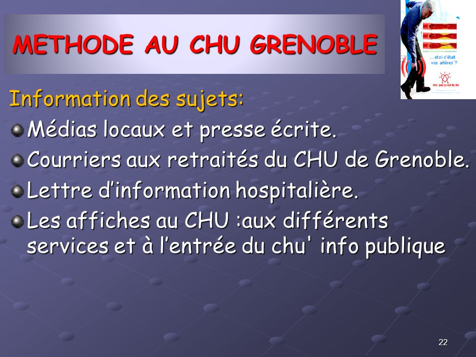 METHODE AU CHU GRENOBLE