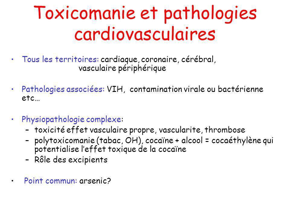 Toxicomanie et pathologies cardiovasculaires