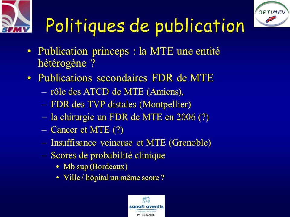 Politiques de publication