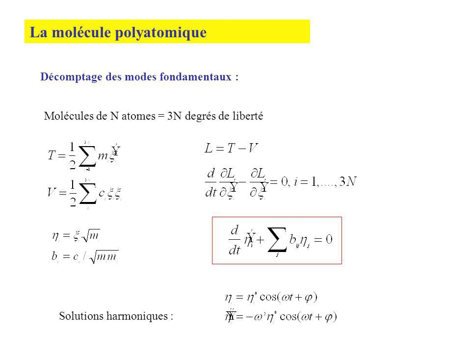 La molécule polyatomique