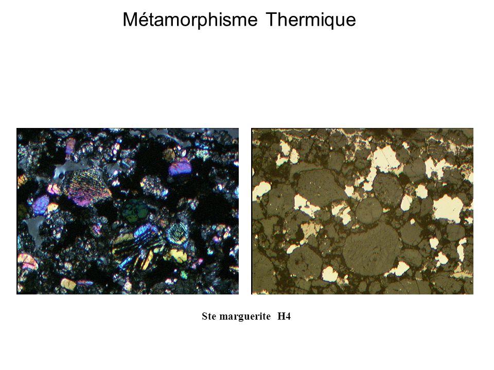 Métamorphisme Thermique