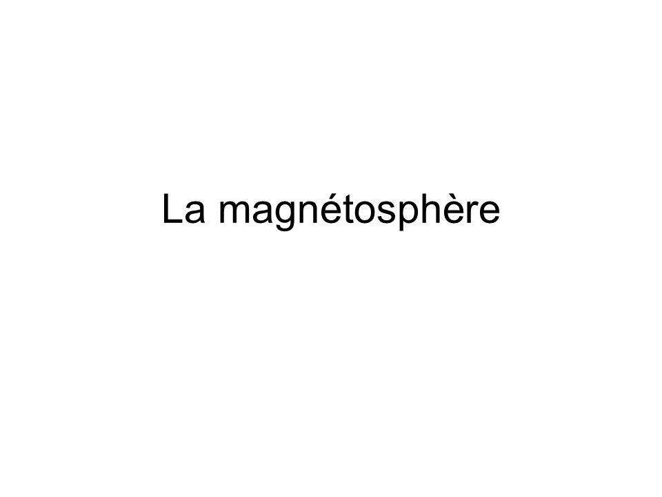 La magnétosphère