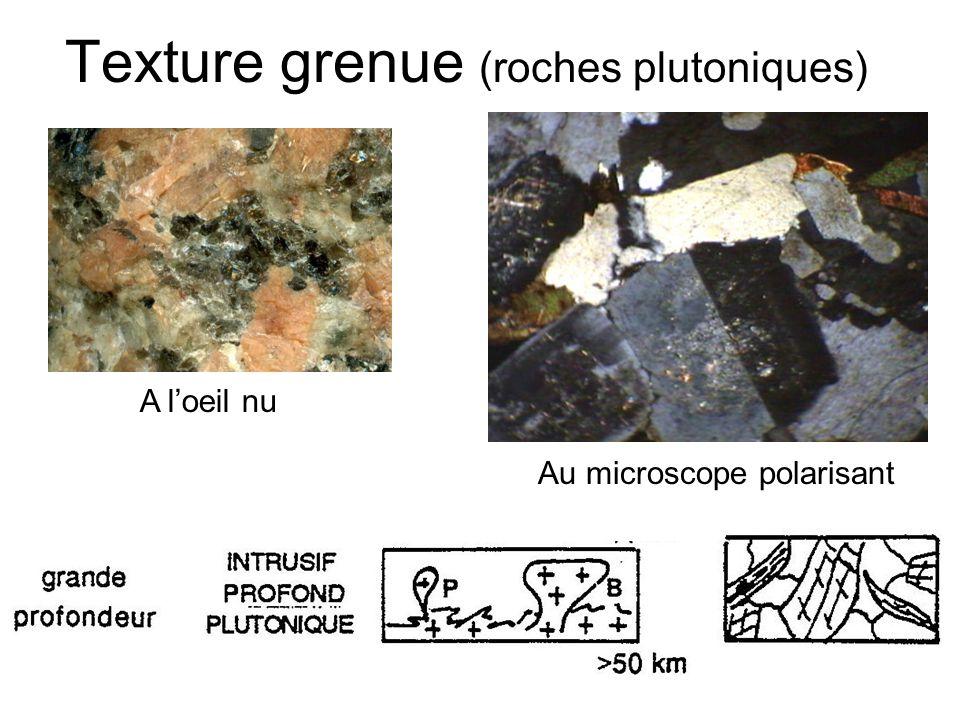 Texture grenue (roches plutoniques)
