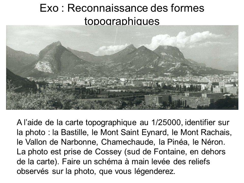 Exo : Reconnaissance des formes topographiques