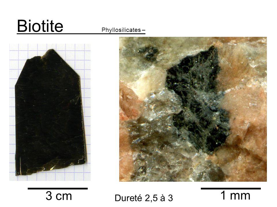 Biotite Phyllosilicates –