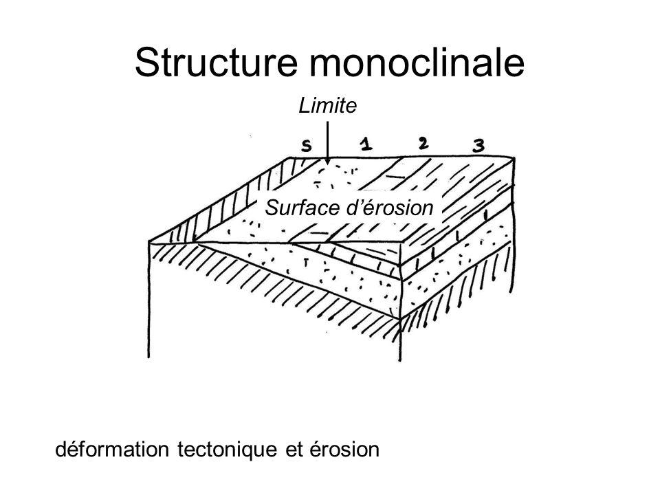 Structure monoclinale