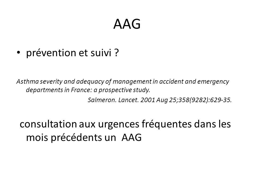 AAG prévention et suivi