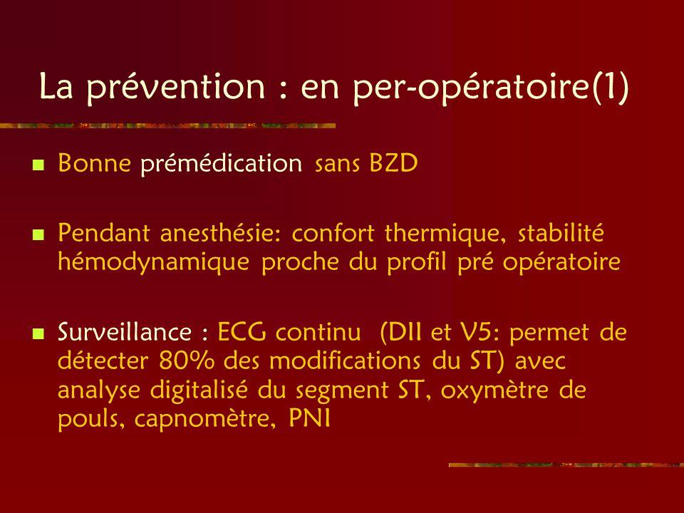La prévention : en per-opératoire(1)