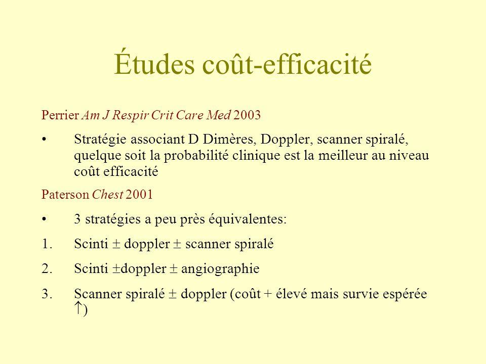 Études coût-efficacité
