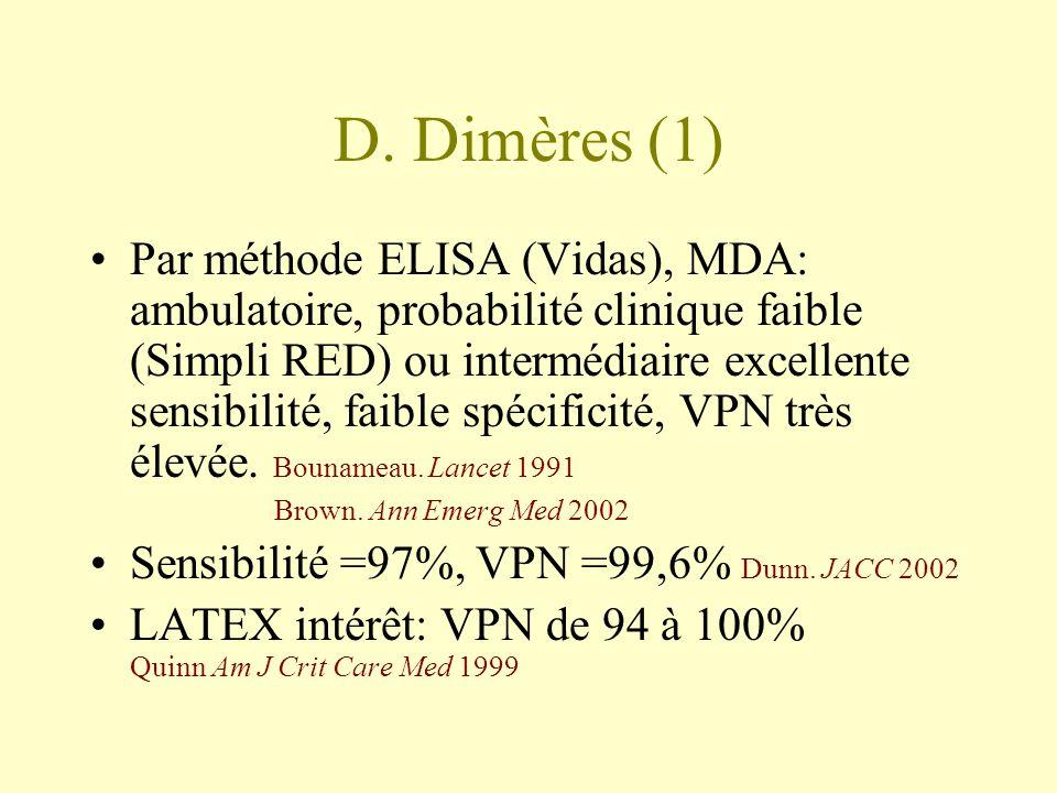 D. Dimères (1)