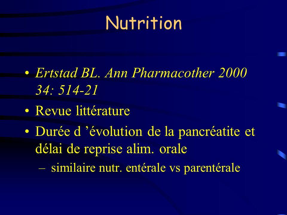 Nutrition Ertstad BL. Ann Pharmacother 2000 34: 514-21