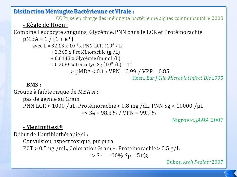 => pMBA < 0.1 : VPN = 0.99 / VPP = 0.85