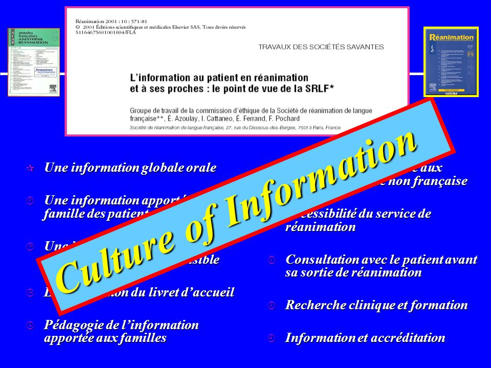 Culture of Information