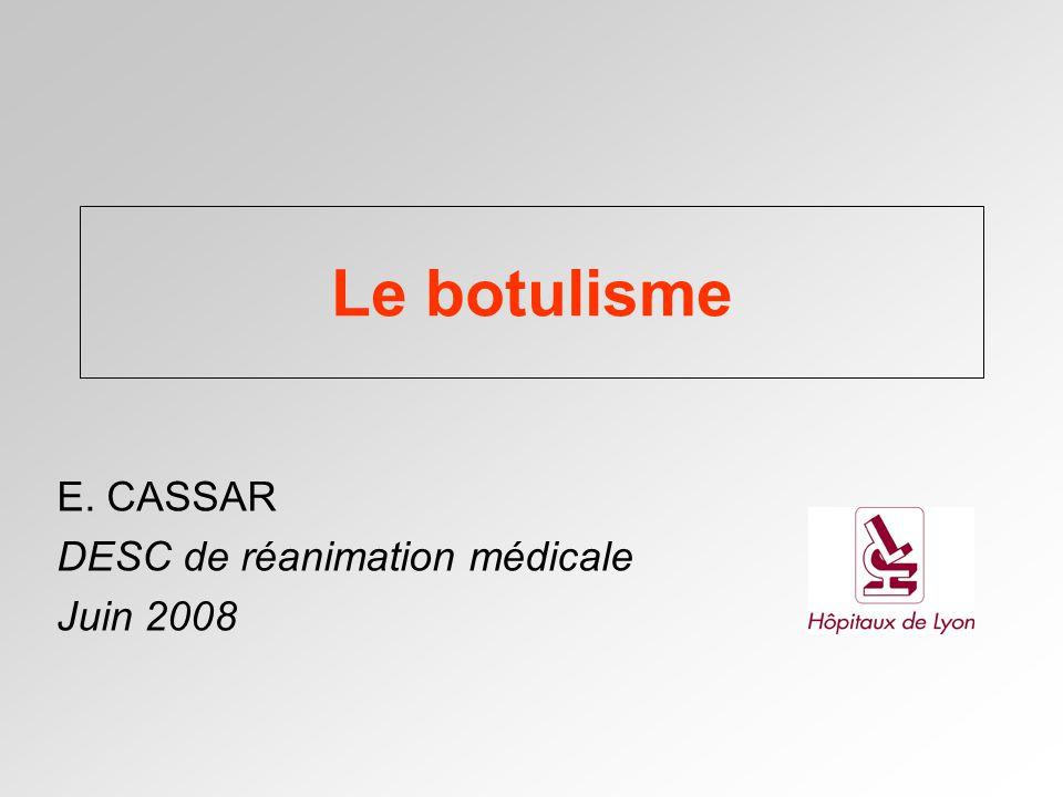 E. CASSAR DESC de réanimation médicale Juin 2008