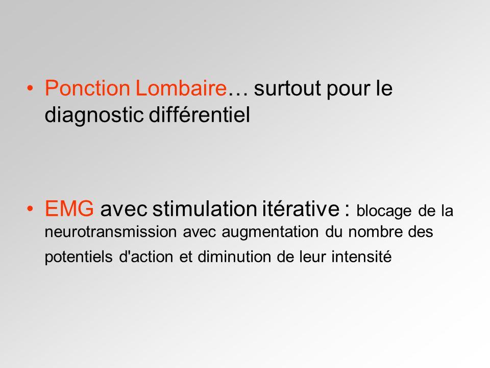 Ponction Lombaire… surtout pour le diagnostic différentiel