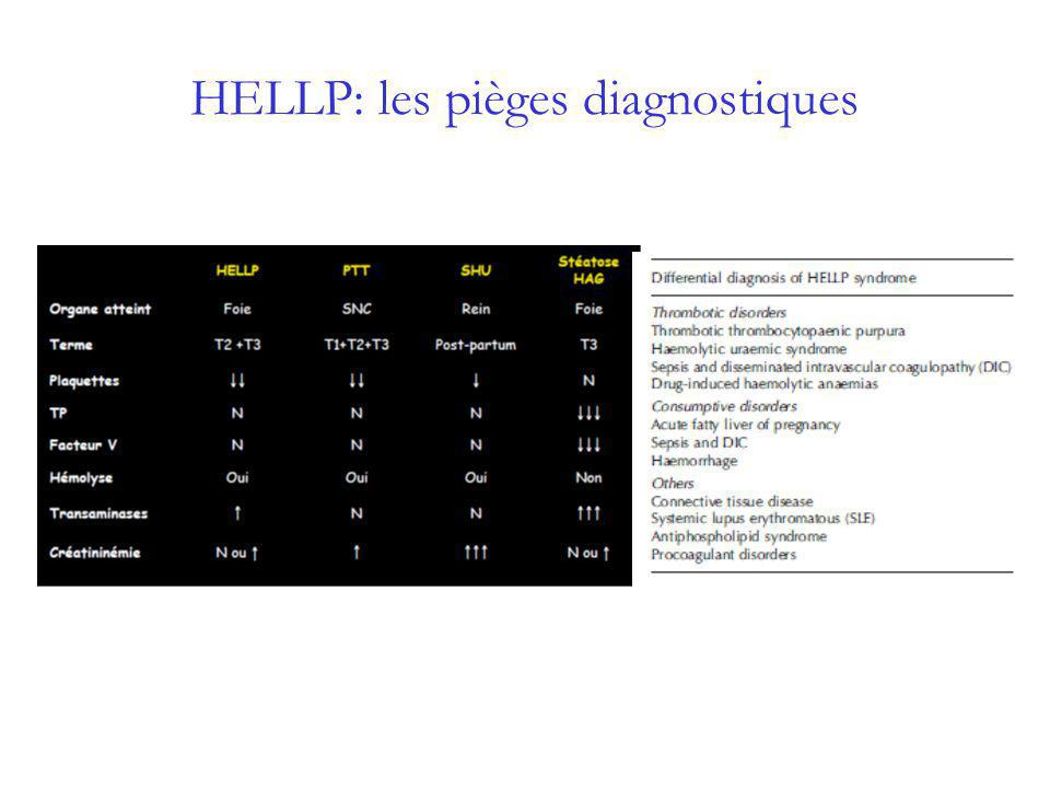 HELLP: les pièges diagnostiques