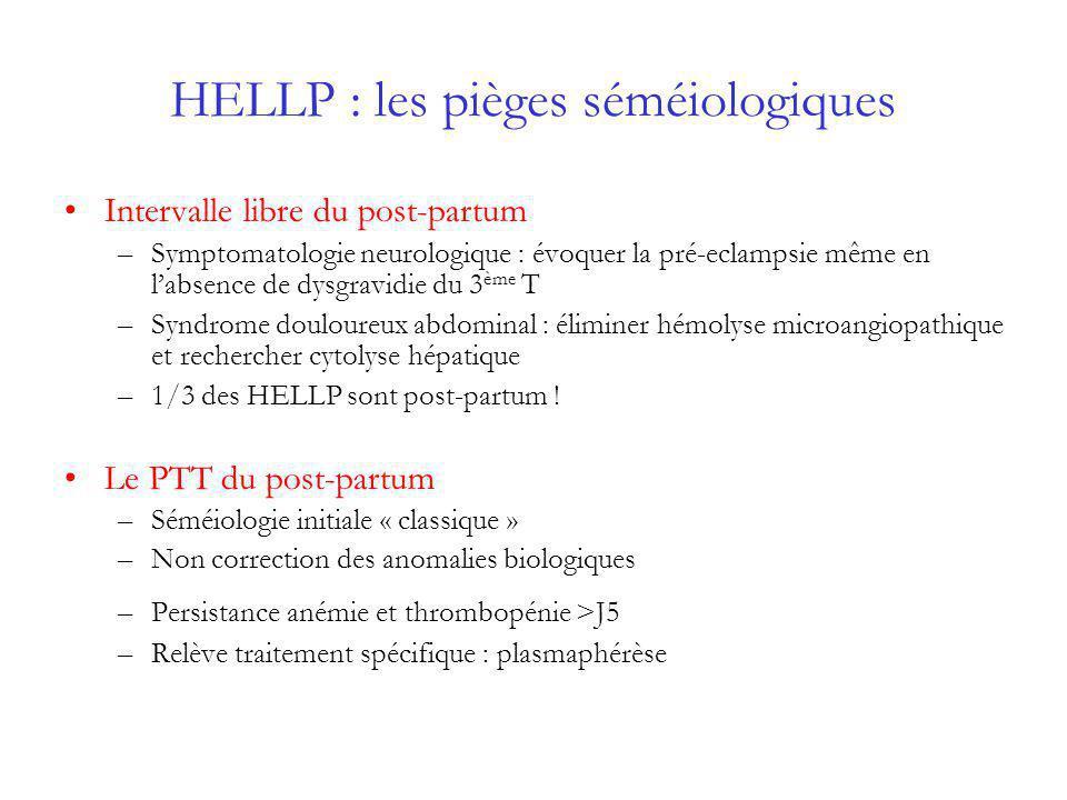 HELLP : les pièges séméiologiques