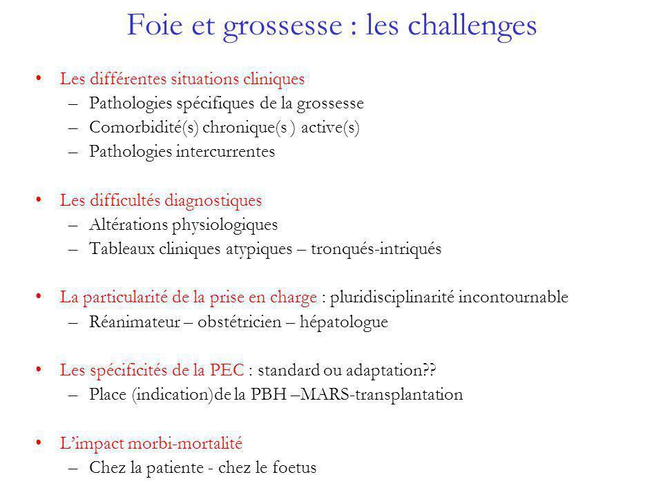 Foie et grossesse : les challenges