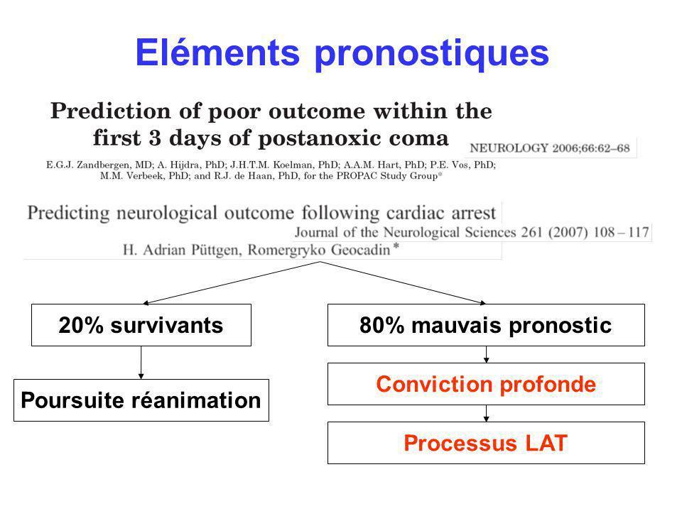Eléments pronostiques