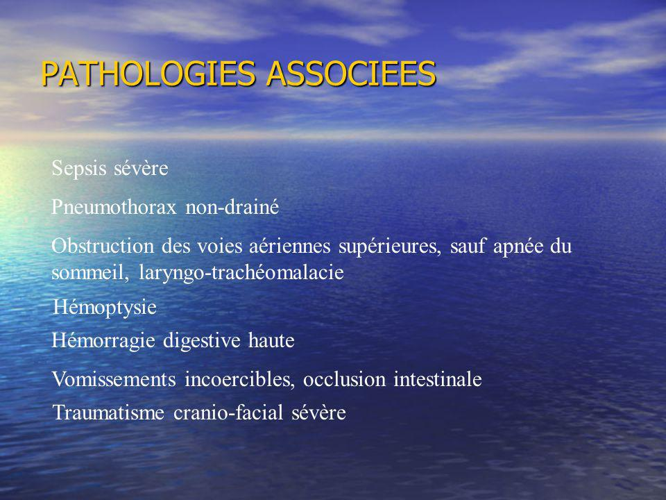 PATHOLOGIES ASSOCIEES