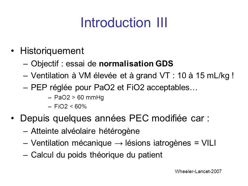 Introduction III Historiquement