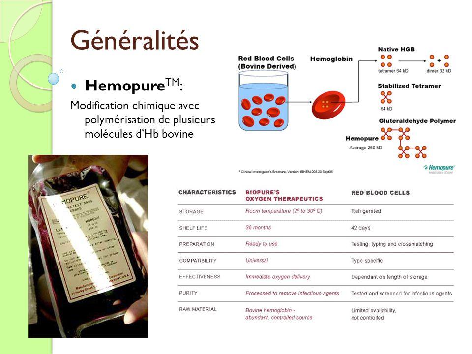 Généralités HemopureTM: