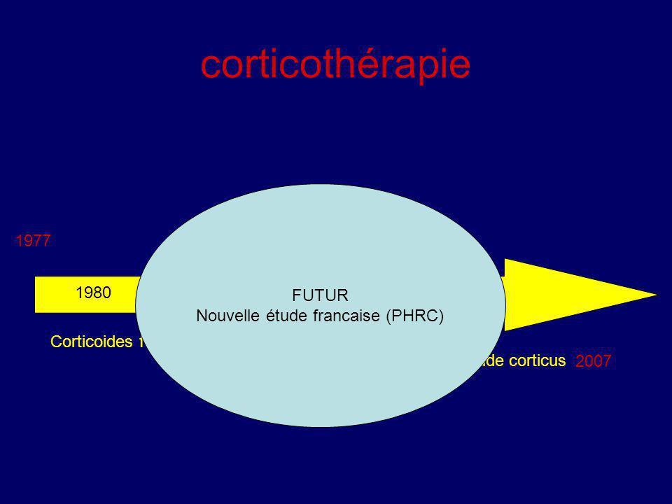 Nouvelle étude francaise (PHRC)