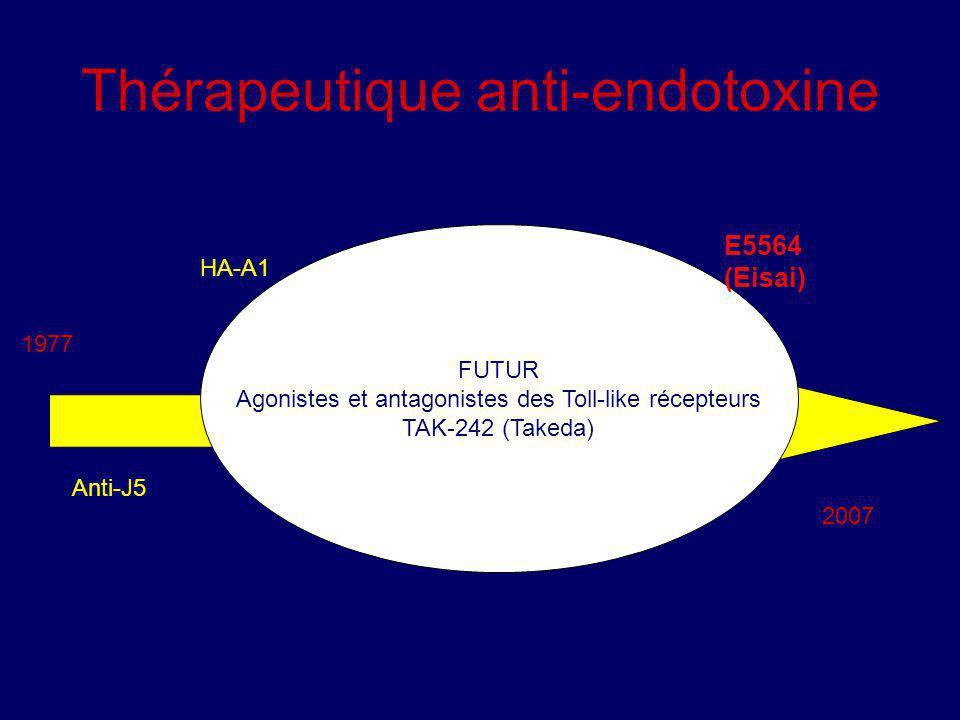 Thérapeutique anti-endotoxine