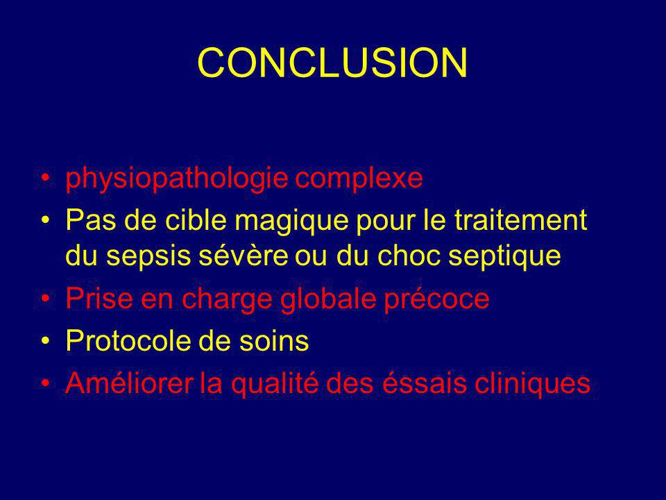 CONCLUSION physiopathologie complexe