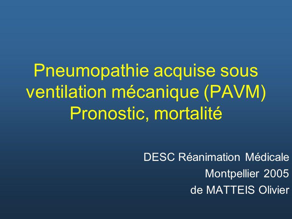 DESC Réanimation Médicale Montpellier 2005 de MATTEIS Olivier
