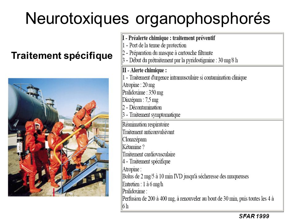Neurotoxiques organophosphorés